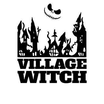 Village Witch V2 by TeeTimeGuys