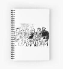 Kreeps with Kids Spiral Notebook