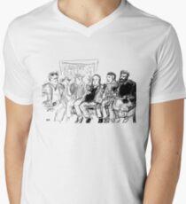 Kreeps with Kids Men's V-Neck T-Shirt