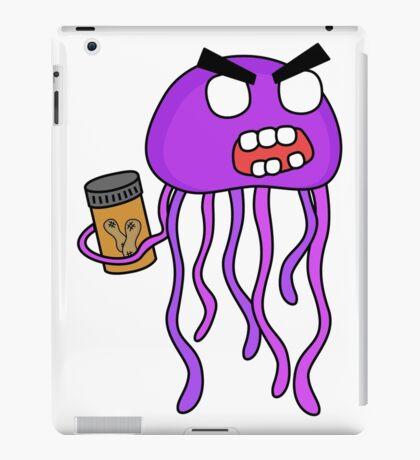 angry zombie jellyfish iPad Case/Skin