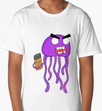 angry zombie jellyfish Long T-Shirt