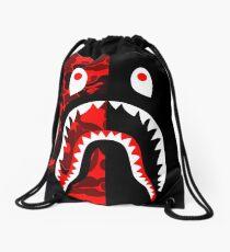 bape shark 126 Drawstring Bag