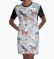 Mt. Kosciuszko Brumbies T-Shirt Kleid