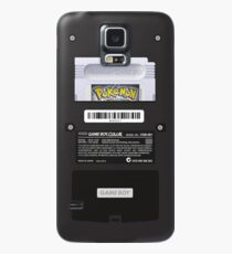 Black Gameboy Color - Silver Cartridge Case/Skin for Samsung Galaxy