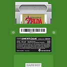 Green GameBoy Color Back - Link's awakening by MarcoD