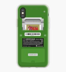 Vinilo o funda para iPhone Green GameBoy Color Back - El despertar de Link