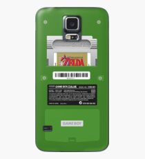 Green GameBoy Color Back - Erwachen des Links Hülle & Klebefolie für Samsung Galaxy