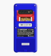 Blau GameBoy Color Zurück - Red Cartridge Hülle & Klebefolie für Samsung Galaxy
