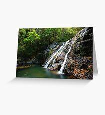 Kagoonya Falls Greeting Card