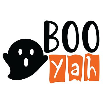 Halloween Night Shirt Boo Yah Funny Scary Ghost Apparel  by arnaldog