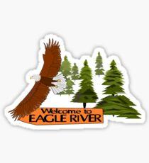 Eagle River Sticker