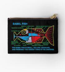 NDVH Babel Fish H2G2 Zipper Pouch