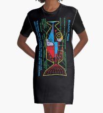 NDVH Babel Fish Graphic T-Shirt Dress