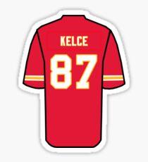 Travis Kelce Jersey Sticker