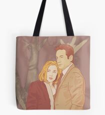 X files believe in ghosts by Mimie ( more 70 designs XFiles in my shop) Tote Bag