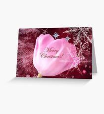 Merry Christmas Tulip Greeting Card