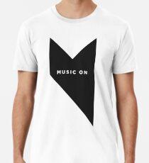 Musik auf Ibiza Männer Premium T-Shirts