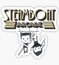 Steamboat Arcade Sticker