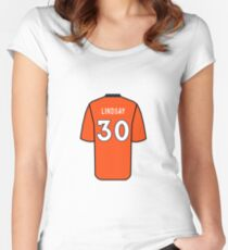 Phillip Lindsay Jersey Fitted Scoop T-Shirt