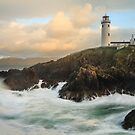 Choppy Seas At Fanad Lighthouse by Adrian McGlynn