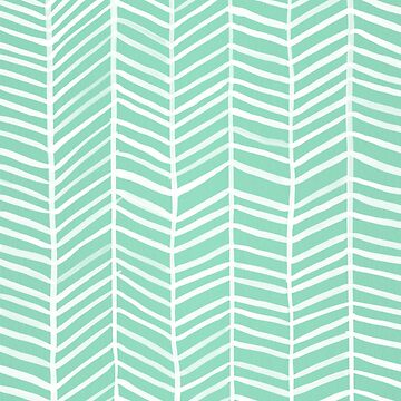 Herringbone – Mint & White Palette by catcoq