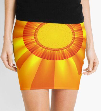 The Cross Mini Skirt