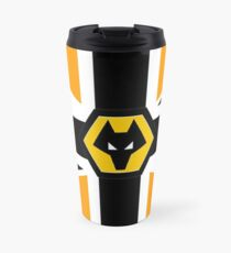 Wolves illustration Travel Mug