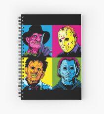 POP HORROR Spiral Notebook