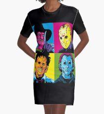 POP HORROR Graphic T-Shirt Dress