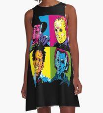 POP HORROR A-Line Dress