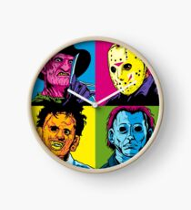 POP HORROR Clock