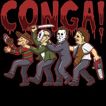 Horror Conga by andresMvalle