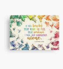 It was books Canvas Print