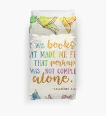Es waren Bücher Bettbezug