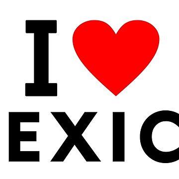 I love Mexico by tony4urban