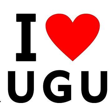 I love Uruguay by tony4urban