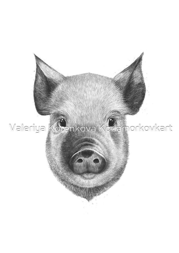 Pig boy by Valeriya Korenkova Kodamorkovkart