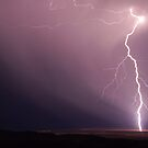 Fork Lightning near Port Germain by Wayne England