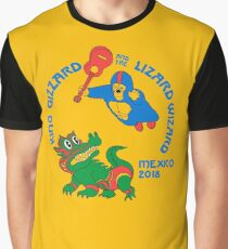 King Gizzard  - Mexico 2018 Graphic T-Shirt