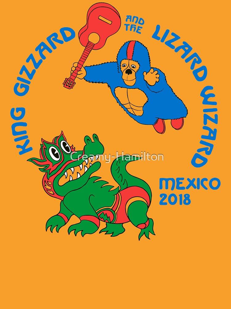 Rey Gizzard - México 2018 de Creamy-Hamilton