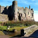 Laugharne Castle, Wales by mcworldent