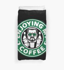 Enjoying My Coffee Duvet Cover