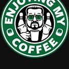 Enjoying My Coffee by Adho1982