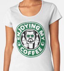 Enjoying My Coffee Women's Premium T-Shirt