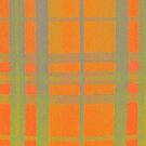 Orange Tartan by MagsArt