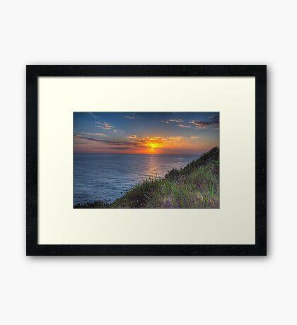 Solitude - Mona Vale Headland Sydney - The HDR Experience Framed Print