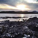 Coastline near Ullinish on the west coast of Skye by Richard Flint