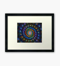 Spiral Shell Beads Framed Print