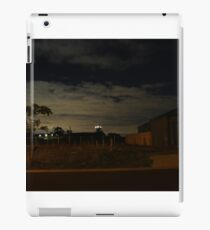 Quiet Suburb at Night iPad Case/Skin