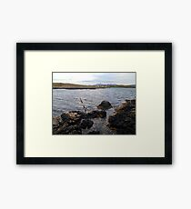 The west coast of Skye Framed Print